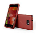 SGP Scrub Silicone Cases Covers For Samsung i9100 GALAXY SII S2 - Red