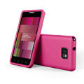 SGP Scrub Silicone Cases Covers For Samsung i9100 GALAXY SII S2 - Rose