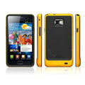 SGP Scrub Silicone Cases Covers For Samsung i9100 GALAXY SII S2 - Yellow