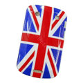 Flag Silicone Hard Cases Skin For Blackberry Bold Touch 9900