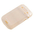 Moovworks Silicone Cases Covers for Blackberry Bold Touch 9900 - White