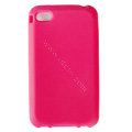 s-mak Color covers Silicone Cases For iPhone 5G - Pink