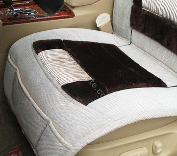 buy wholesale winter fleece auto seat covers warm plush pads car seat cushion beige from. Black Bedroom Furniture Sets. Home Design Ideas