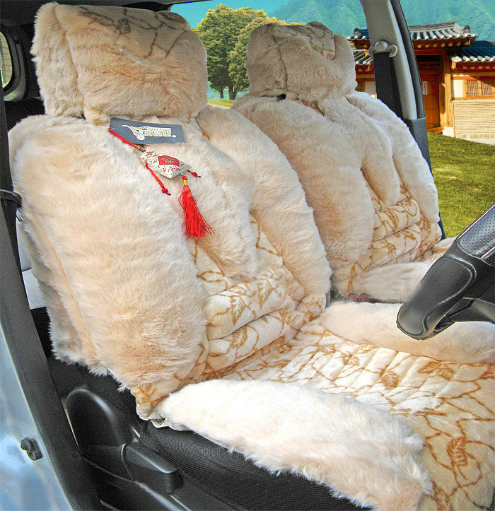 buy wholesale winter fleece tiger print grain auto seat cushion warm plush car seat covers. Black Bedroom Furniture Sets. Home Design Ideas