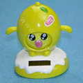 Shake his head doll Solar Face Change Doll Solar Doll Car decoration - Green