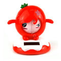 Shake his head doll Solar Face Change Doll Solar Doll Car decoration - Red
