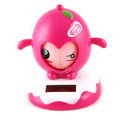 Solar Doll Shake his head doll Solar Face Change Doll Car decoration - Rose