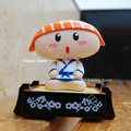 Solar Doll Shake his head doll Solar Sushi Taro Shake head Doll Car decoration