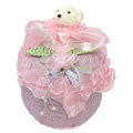 Car decoration Air purification Lace bamboo carbon bag insect-resistant mouldproof - Pink