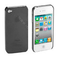 Transparency shell Hard Back Cases Covers for iPhone 4G - Black