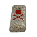 Bling covers Apple diamond crystal cases for iPhone 3G - Red