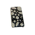 Bling covers Stone diamond crystal cases for iPhone 3G - White