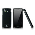 Nillkin skin cases covers for Sony Ericsson Xperia ray ST18i - Black