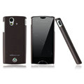 Nillkin skin cases covers for Sony Ericsson Xperia ray ST18i - Brown