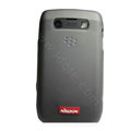 Nillkin matte scrub skin cases covers for BlackBerry 9700 - Black