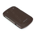 Nillkin skin cases covers for Blackberry Bold Touch 9900 - Brown