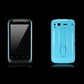 Nillkin Bright side skin cases shelf covers for HTC Desire S G12 S510e - Blue