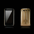 Nillkin Bright side skin cases shelf covers for HTC Desire S G12 S510e - Gold