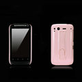 Nillkin Bright side skin cases shelf covers for HTC Desire S G12 S510e - Pink