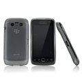 Nillkin matte scrub skin cases covers for BlackBerry 9850 Monaco Touch Storm 3 - Black