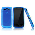 Nillkin matte scrub skin cases covers for BlackBerry 9850 Monaco Touch Storm 3 - Blue