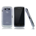 Nillkin matte scrub skin cases covers for BlackBerry 9850 Monaco Touch Storm 3 - White