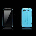 Nillkin Bright side skin hard cases covers for HTC Sensation G14 Z710e - Blue