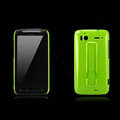Nillkin Bright side skin hard cases covers for HTC Sensation G14 Z710e - Green