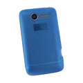 Nillkin matte scrub skin cases covers for HTC Wildfire A315C - Blue