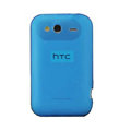 Nillkin matte scrub skin cases covers for HTC Wildfire S A510e G13 - Blue