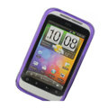Nillkin matte scrub skin cases covers for HTC Wildfire S A510e G13 - Purple