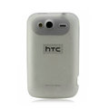 Nillkin matte scrub skin cases covers for HTC Wildfire S A510e G13 - White