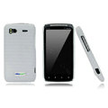 Nillkin new pishi leather Holster cases covers for HTC Sensation G14 Z710e - White