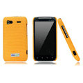 Nillkin new pishi leather Holster cases covers for HTC Sensation G14 Z710e - Yellow