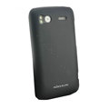 Nillkin scrub hard skin cases covers for HTC Sensation G14 Z710e - Black