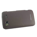 Nillkin scrub hard skin cases covers for HTC Sensation G14 Z710e - Brown
