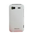Nillkin scrub hard skin cases covers for HTC Sensation G14 Z710e - White