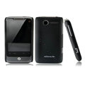 Nillkin scrub hard skin cases covers for HTC Wildfire A315C - Black