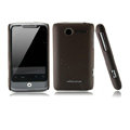 Nillkin scrub hard skin cases covers for HTC Wildfire A315C - Brown