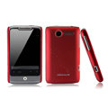Nillkin scrub hard skin cases covers for HTC Wildfire A315C - Red
