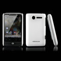 Nillkin scrub hard skin cases covers for HTC Wildfire A315C - White