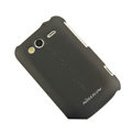 Nillkin scrub hard skin cases covers for HTC Wildfire S A510e G13 - Black