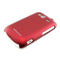 Nillkin scrub hard skin cases covers for HTC Wildfire S A510e G13 - Red