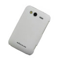Nillkin scrub hard skin cases covers for HTC Wildfire S A510e G13 - White