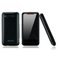 Nillkin scrub hard skin cases covers for HTC Lexicon S610D - Black