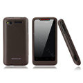 Nillkin scrub hard skin cases covers for HTC Lexicon S610D - Brown