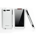 Nillkin scrub hard skin cases covers for HTC Lexicon S610D - White
