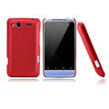 Nillkin scrub hard skin cases covers for HTC Salsa G15 C510e - Red