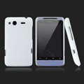 Nillkin scrub hard skin cases covers for HTC Salsa G15 C510e - White