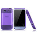 Nillkin scrub skin silicone cases covers for HTC Salsa G15 C510e - Purple